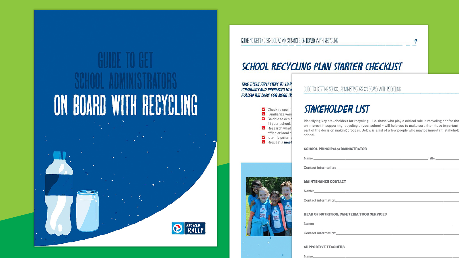 Free Guide: How to Get Administrators On Board With School Recycling